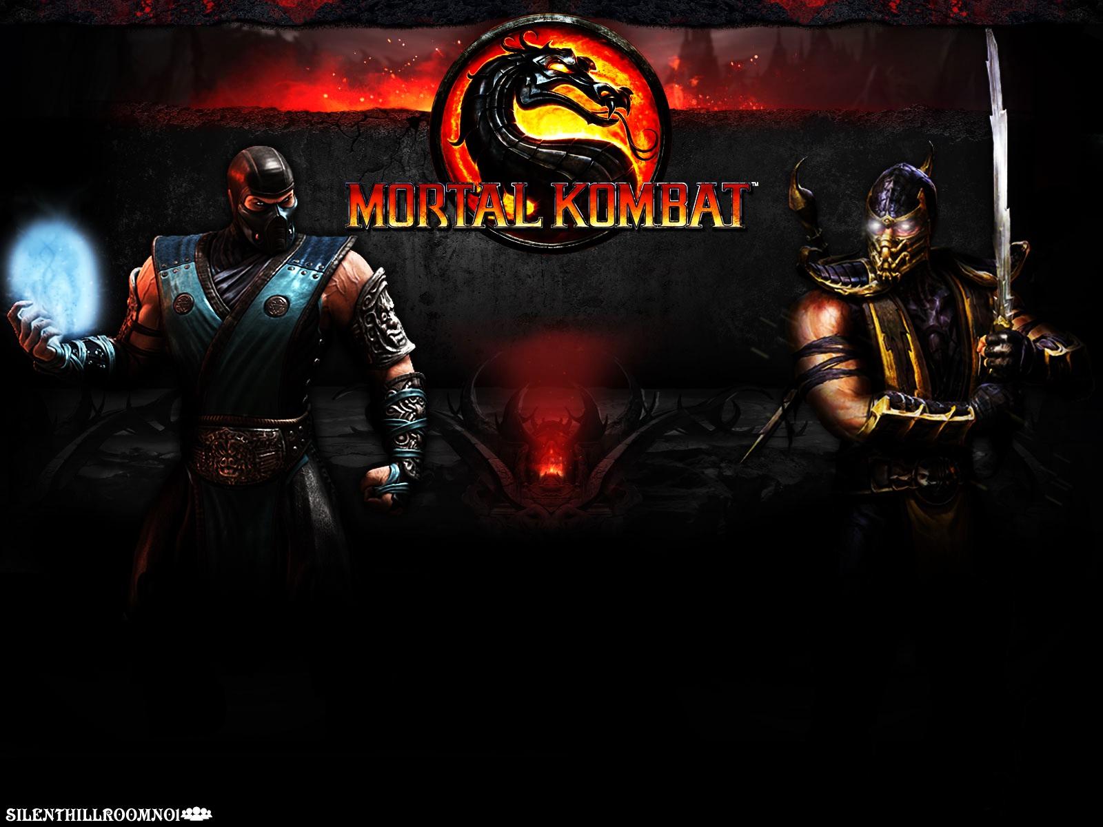 Scorpion VS Subzero Mortal Kombat 9 Wallpaper 1600x1200
