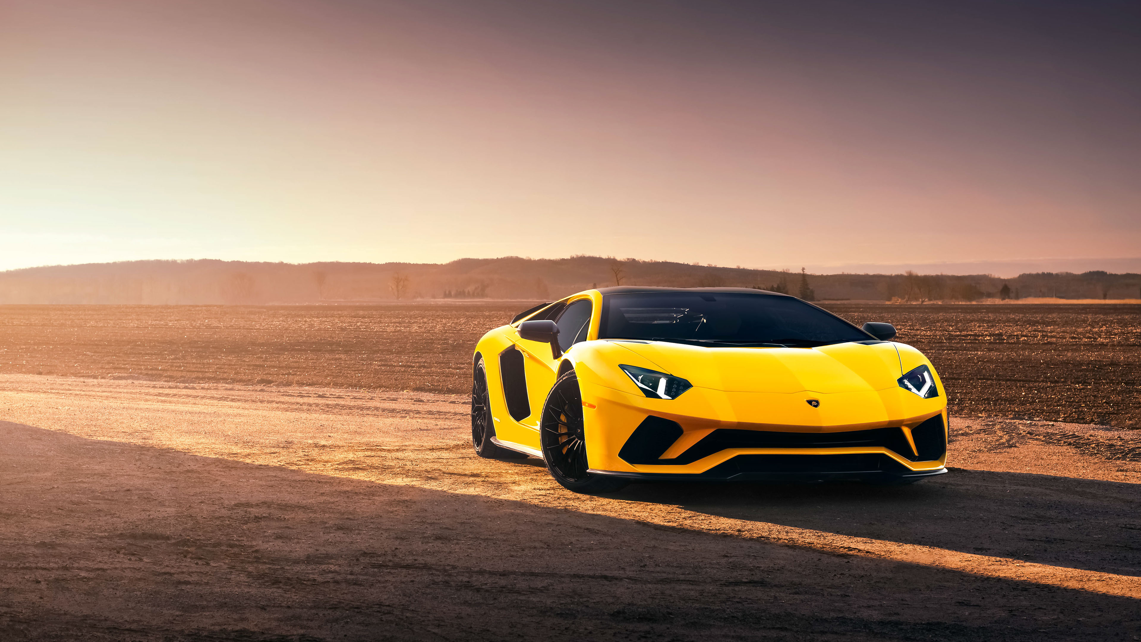 Lamborghini Aventador S 4k Ultra HD Wallpaper Background Image 3840x2160
