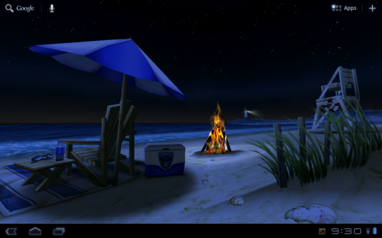 Beach Night 540x337
