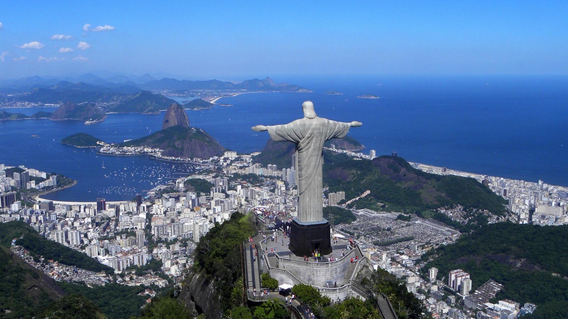 Rio de Janeiro background image Cities wallpapers 1920x1080