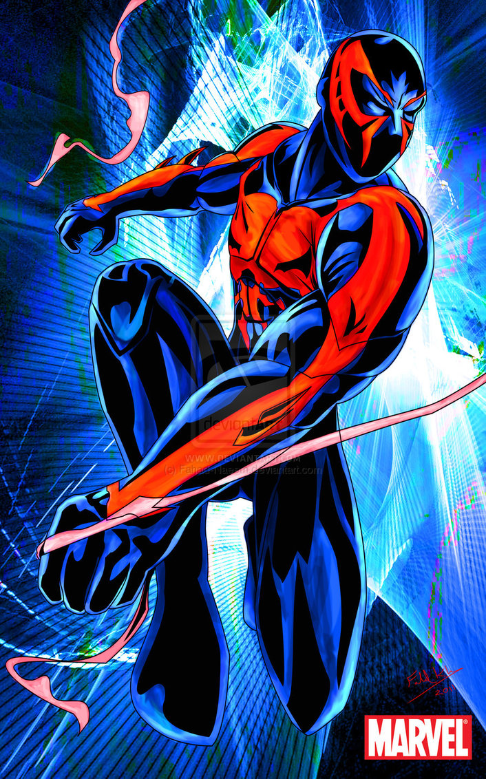 44 Spider Man 2099 Wallpaper On Wallpapersafari