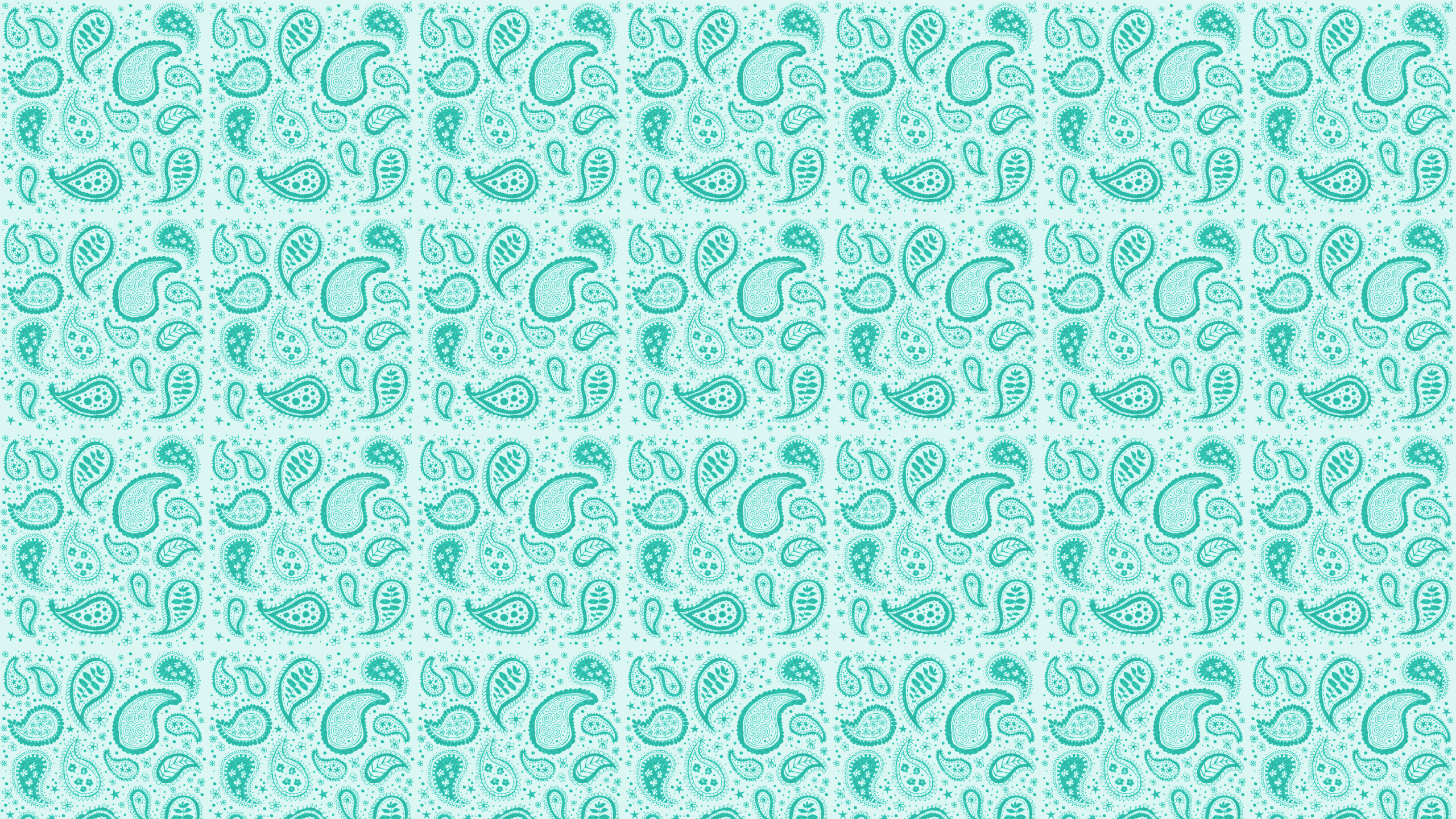 this teal paisley desktop wallpaper is easy just save the wallpaper