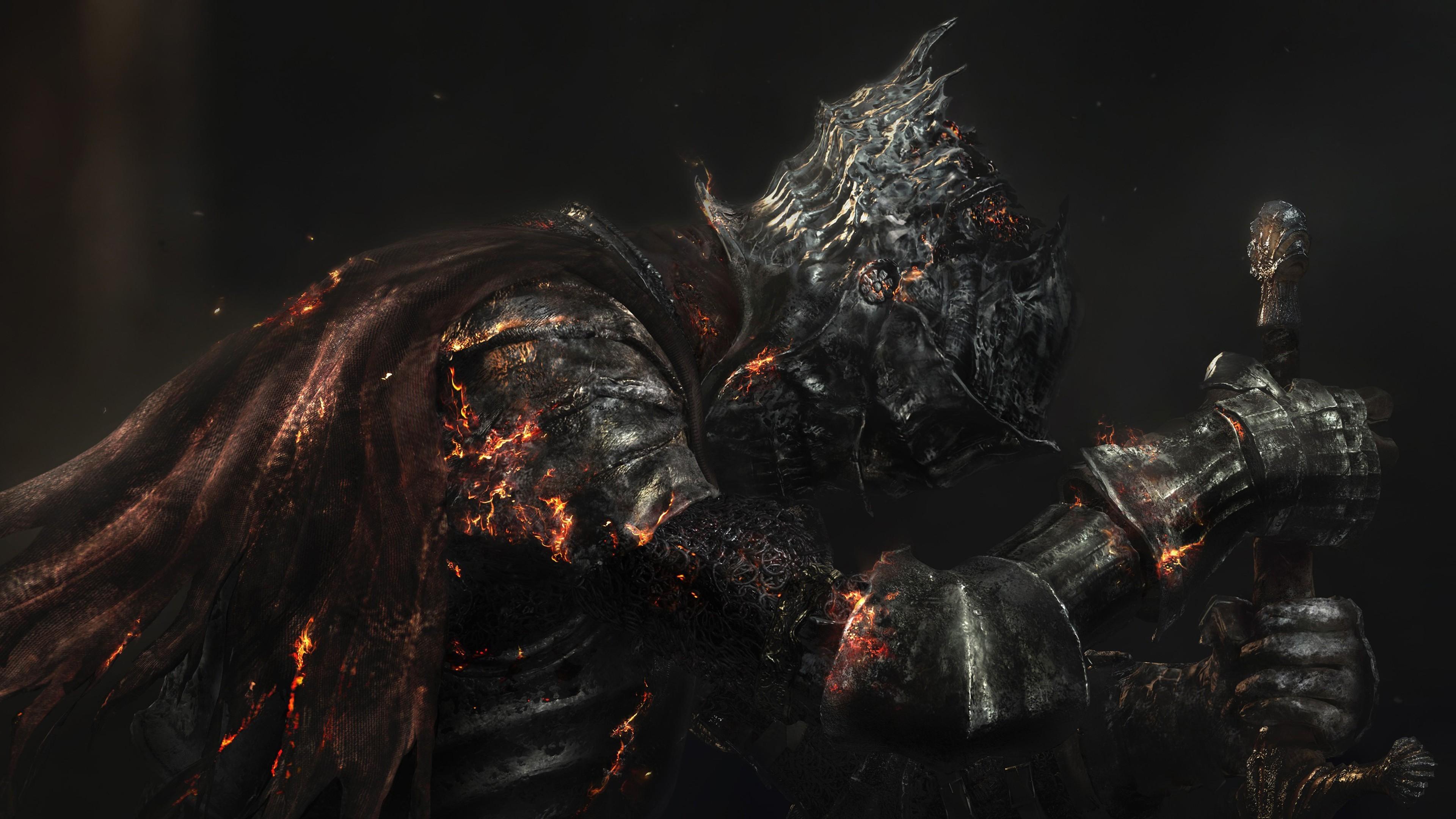Dark Souls 3 pareciera continuar los sucesos del Dark Lord Ending 3840x2160