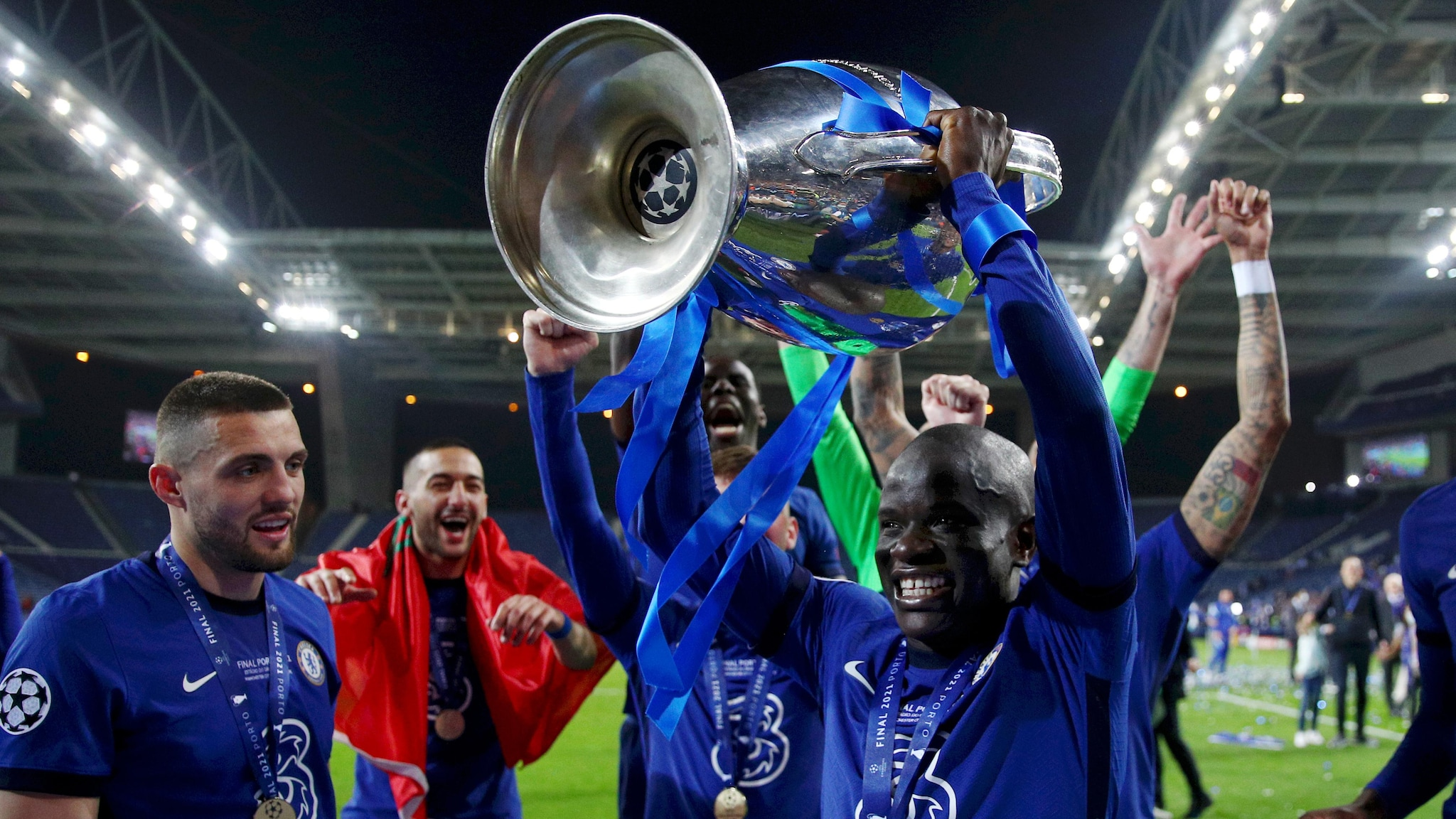 Champions League final Player of the Match NGolo Kant UEFA 2048x1152