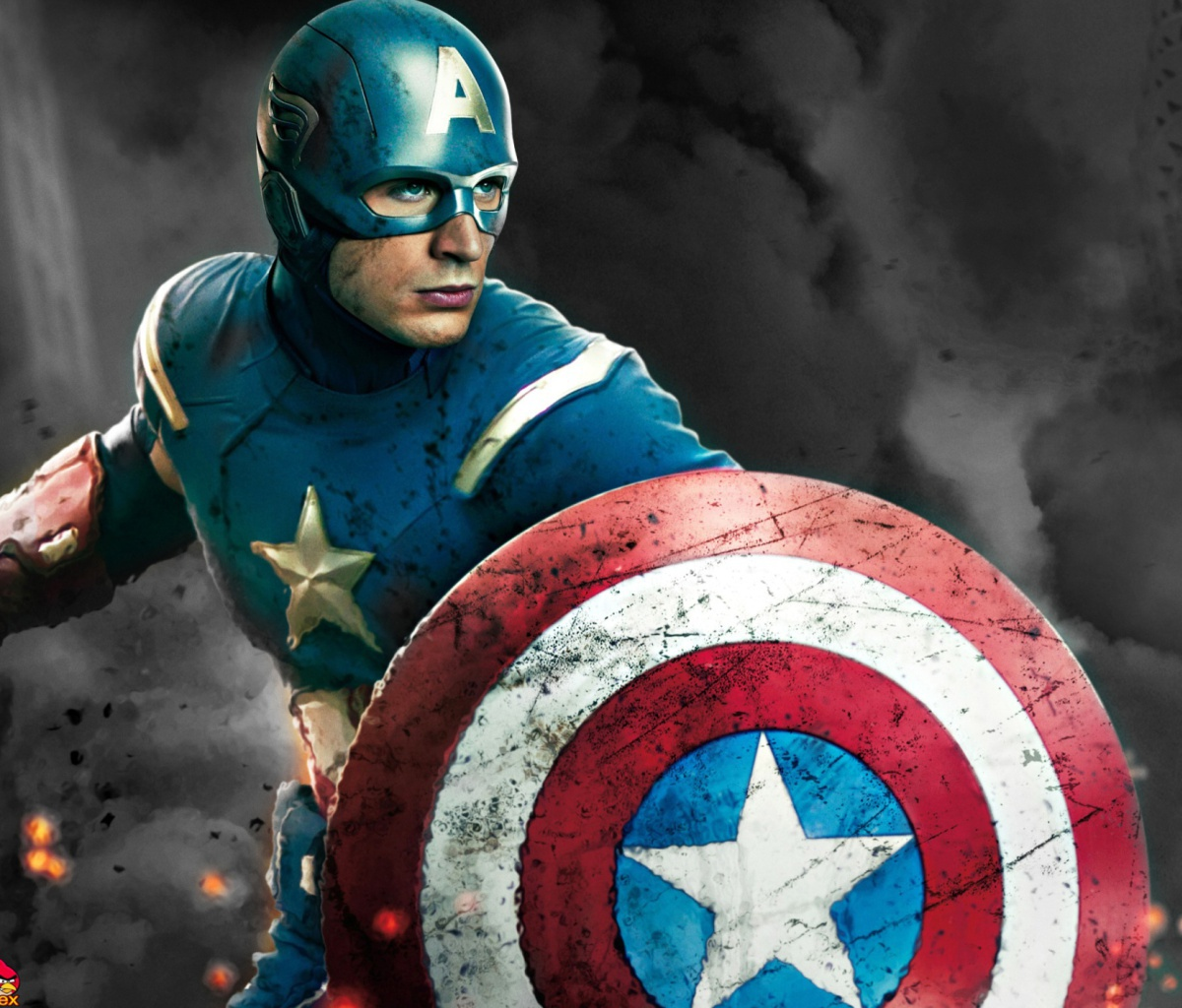 Tags Captain America The Avengers 2012 1200x1024 wallpaper1200X1024 1200x1024