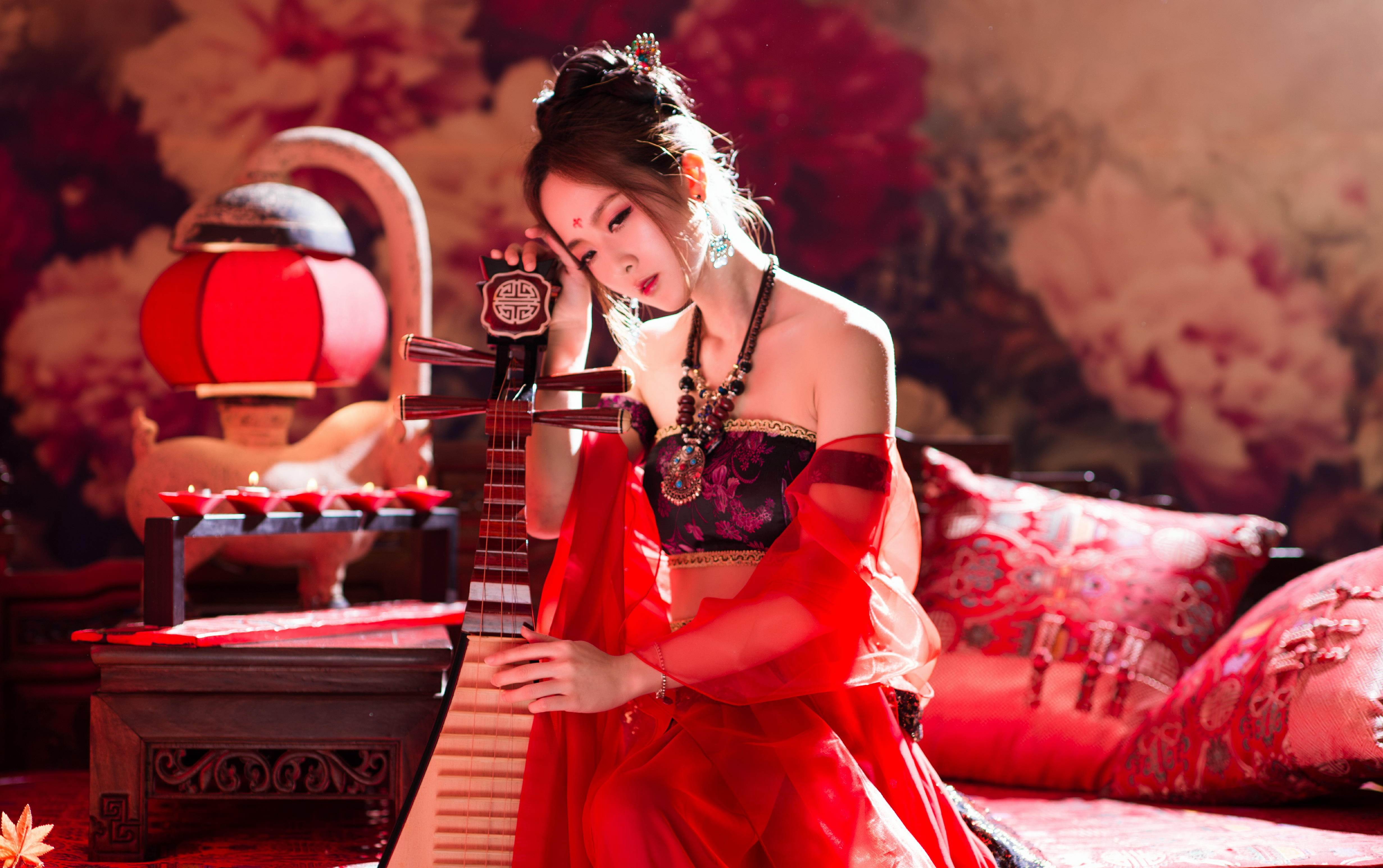 Mikako Zhang Kaijie 4k Ultra HD Wallpaper Background Image 4924x3092