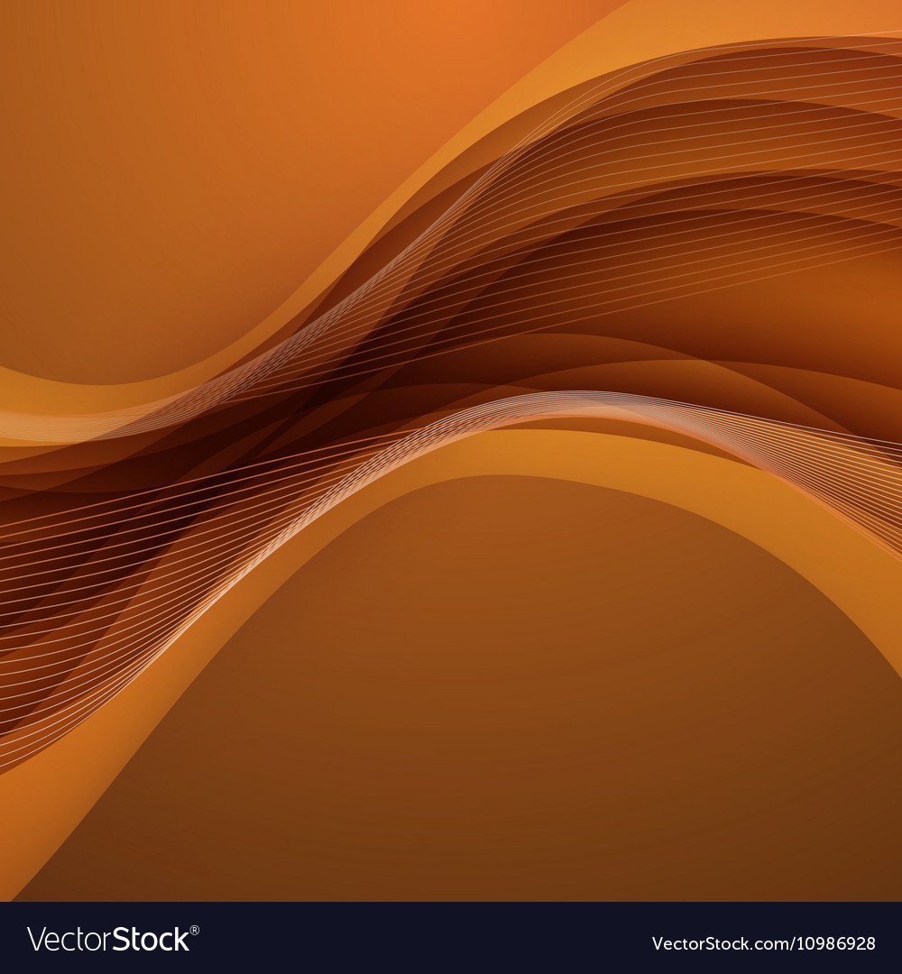 Abstract brown background with wave Royalty Vector 1000x1080
