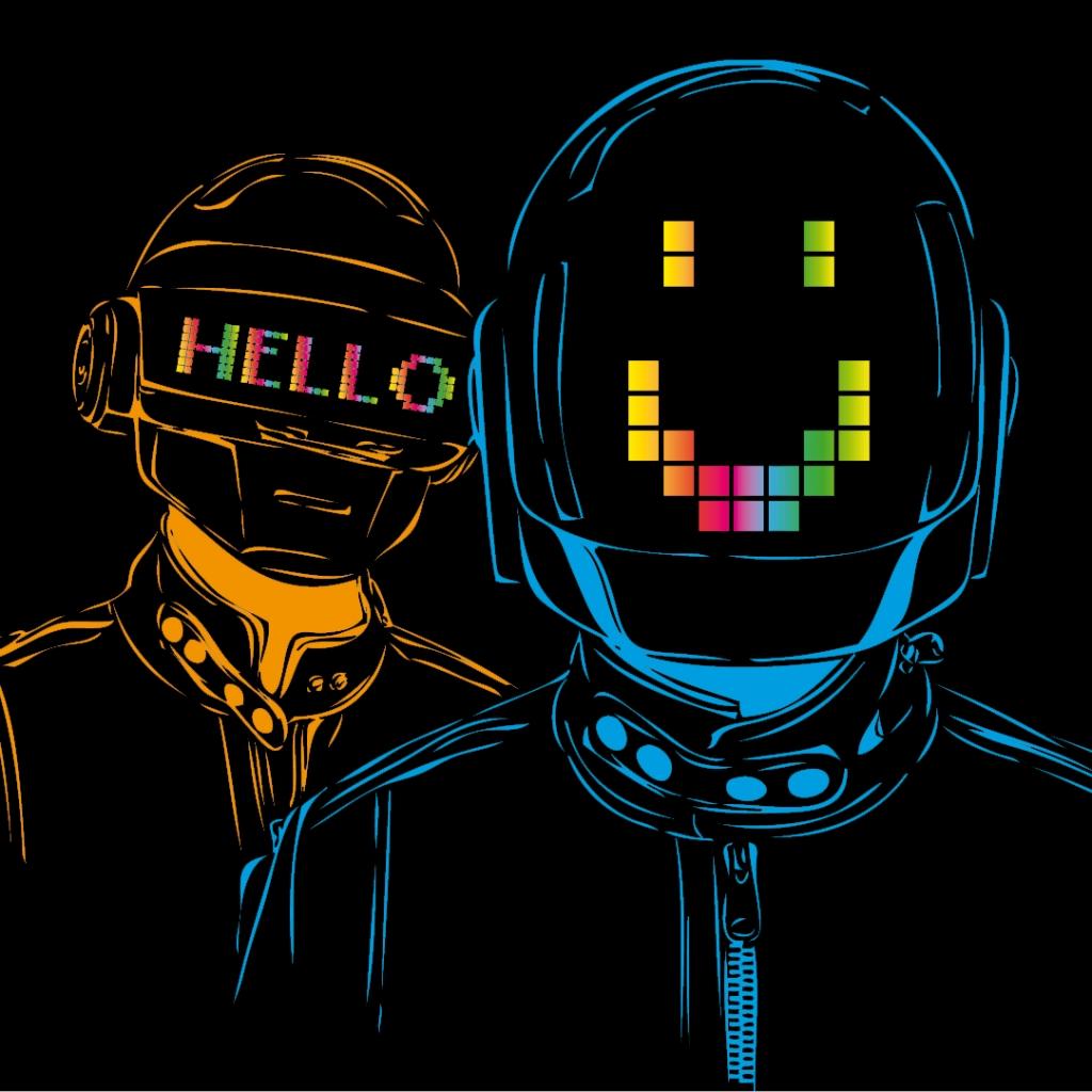 Daft Punk Hd Wallpaper - WallpaperSafari