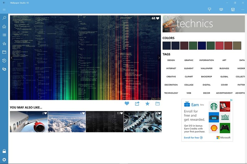 Wallpaper Studio 10 is a one stop shop for all of your Windows 10 800x533