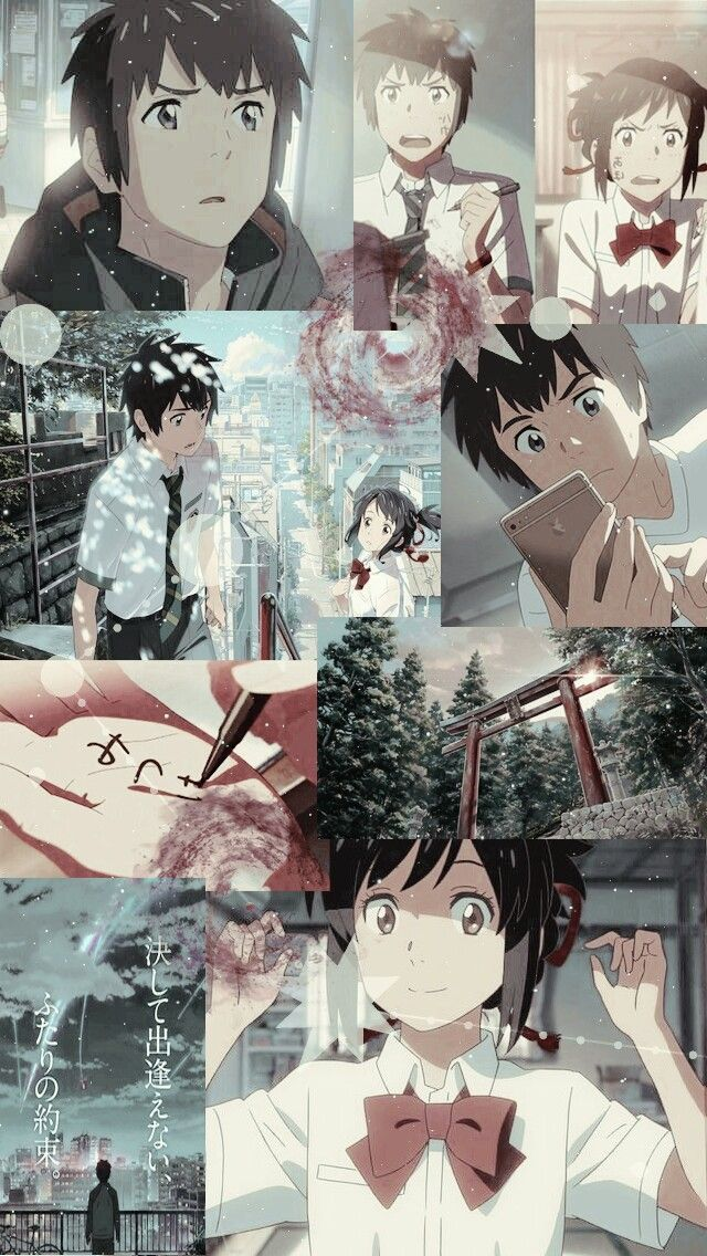 List of Best Anime Wallpaper IPhone Art Anime Kimi No Na Wa Your 640x1136