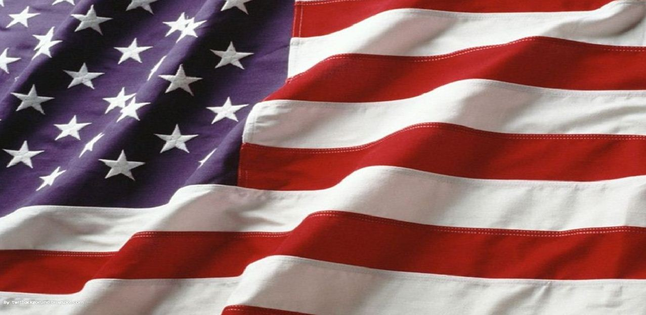 American Flag Background TwitBackground 1277x624