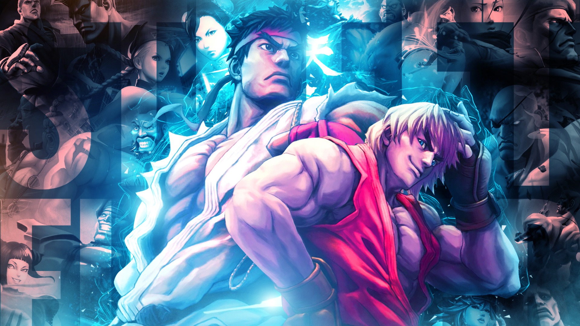 71 Street Fighter Wallpaper On Wallpapersafari