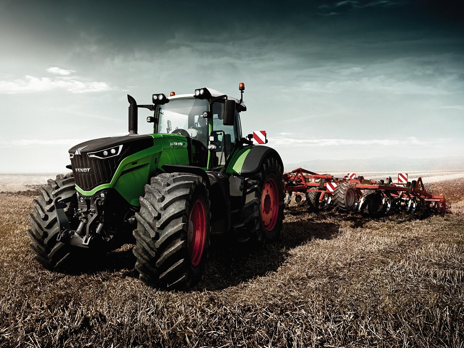 Wallpaper Agricultural machinery tractors 2015 17 Fendt 1600x1200 1600x1200