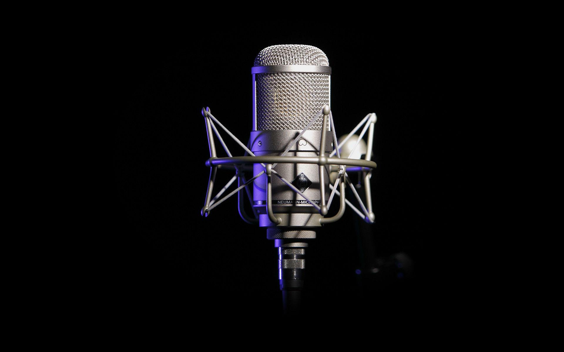 Hd Wallpapers 1080p Music: Music Recording Studio HD Wallpaper