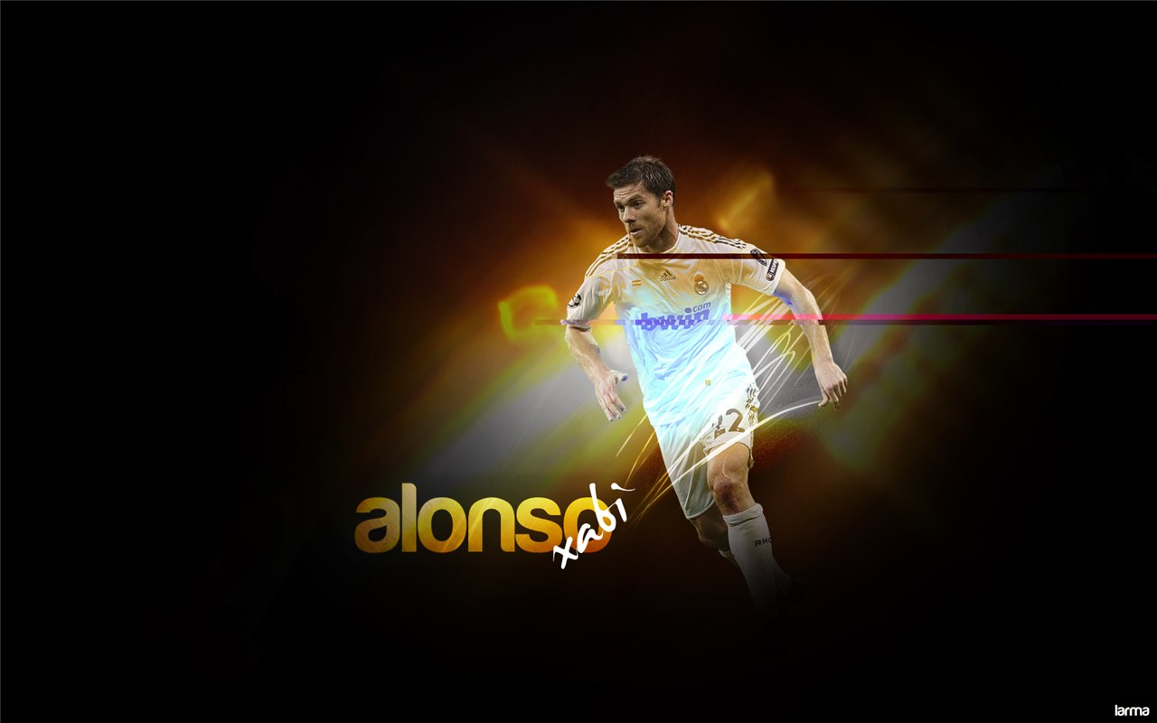 Xabi Alonso Wallpaper Real Madrid   Football Wallpaper HD 1280x800