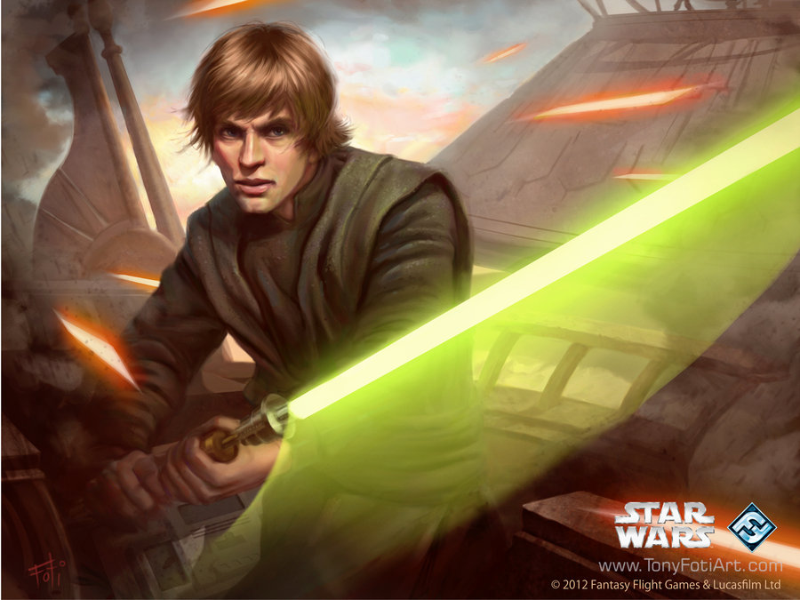 Luke Skywalker 1600 x 1200 Desktop Wallpaper by AnthonyFoti on 900x675