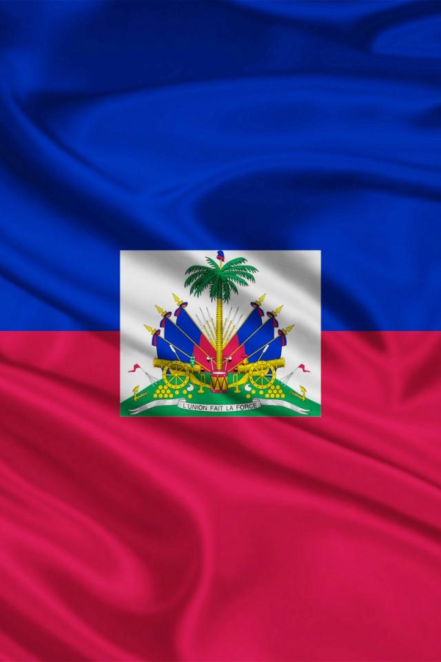 640x960 Haiti Flag Iphone 4 wallpaper 640x960