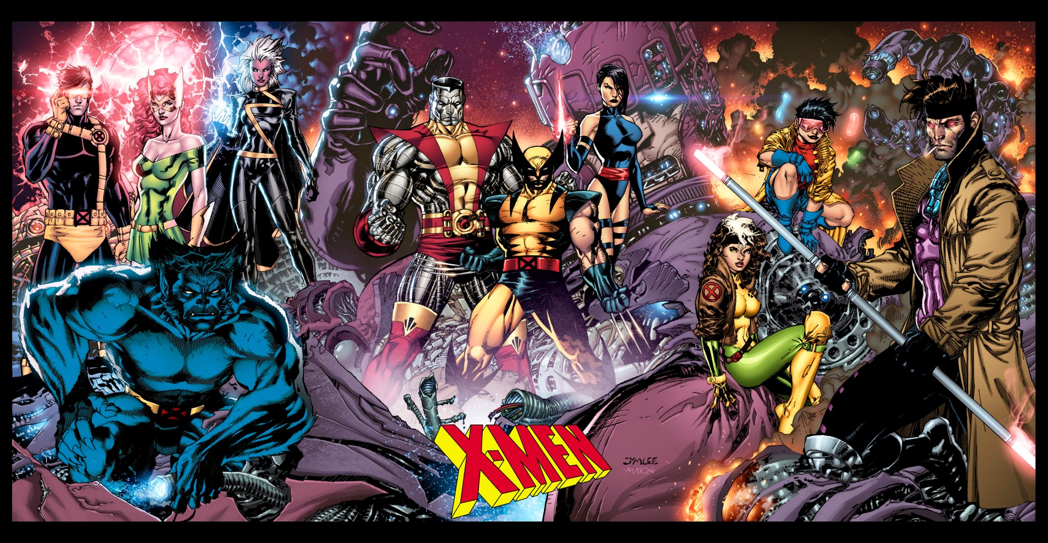 X Men Backgrounds Download 2048x1061