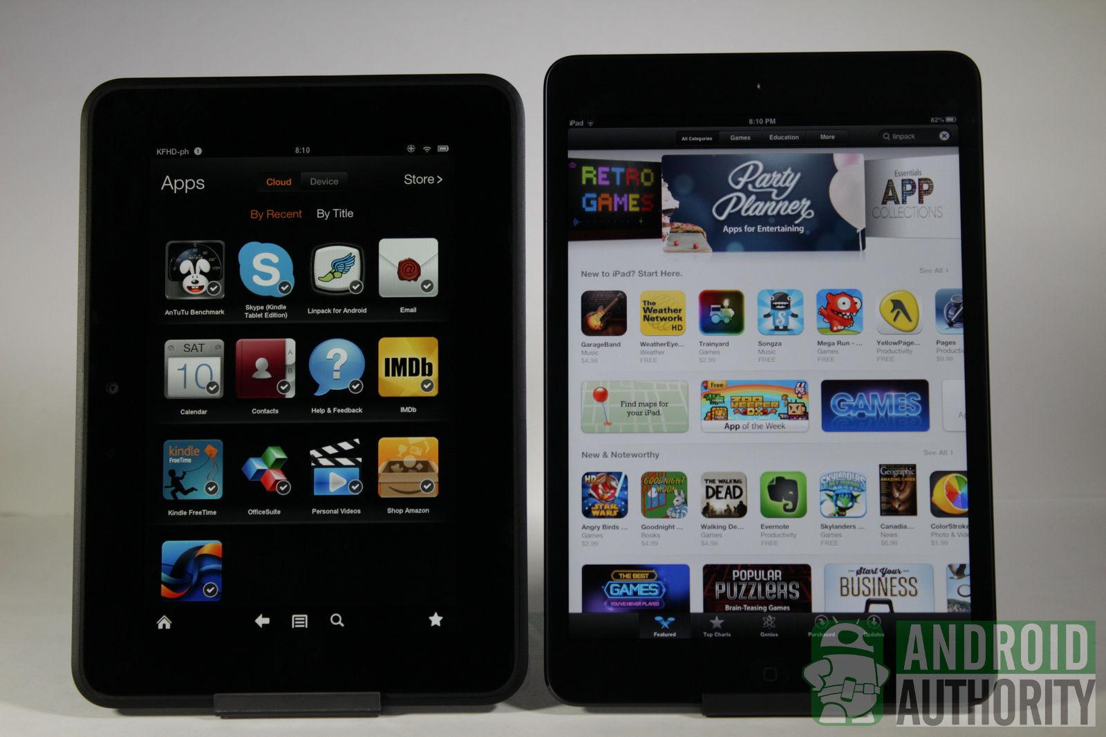 Apple iPad mini vs Amazon Kindle Fire HD 1600x1066