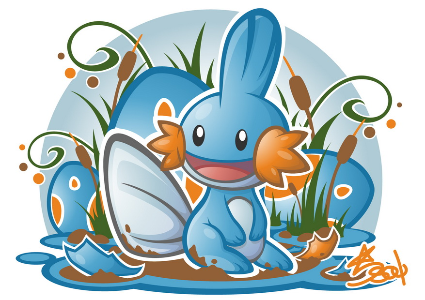 Top HD Mudkip Wallpaper Anime HD 20362 KB 877x620