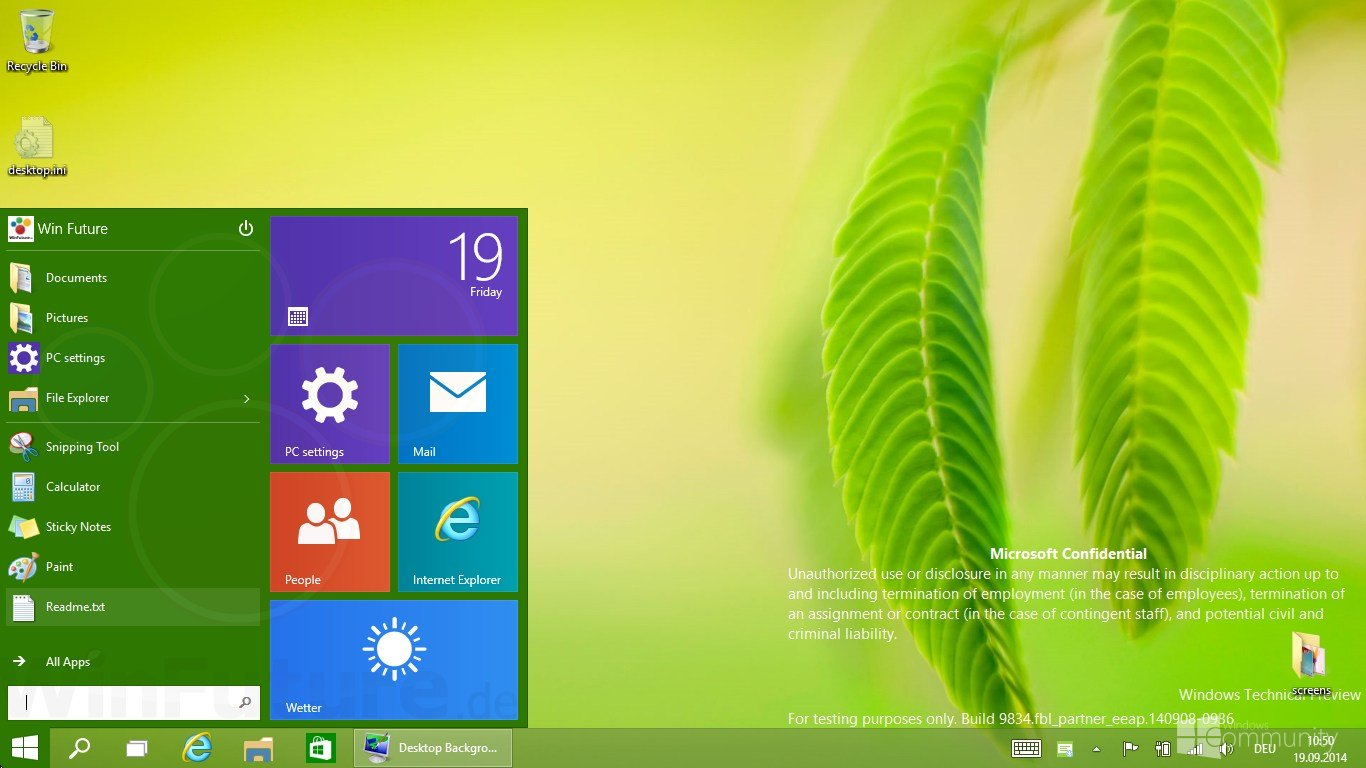 windows technical preview wallpaper 1366x768