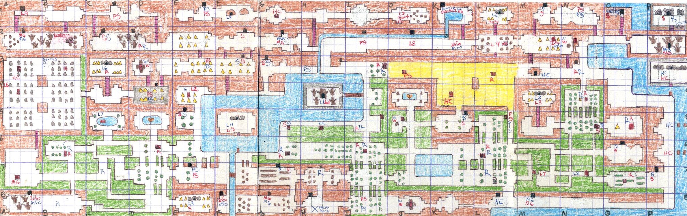 Zelda Map Wallpaper - WallpaperSafari