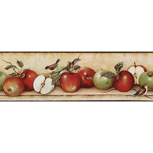 Apples and Birds Wallpaper Border   Walmartcom 500x500