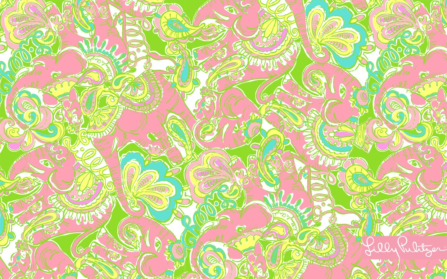 lilly pulitzer wallpaper for home wallpapersafari. Black Bedroom Furniture Sets. Home Design Ideas