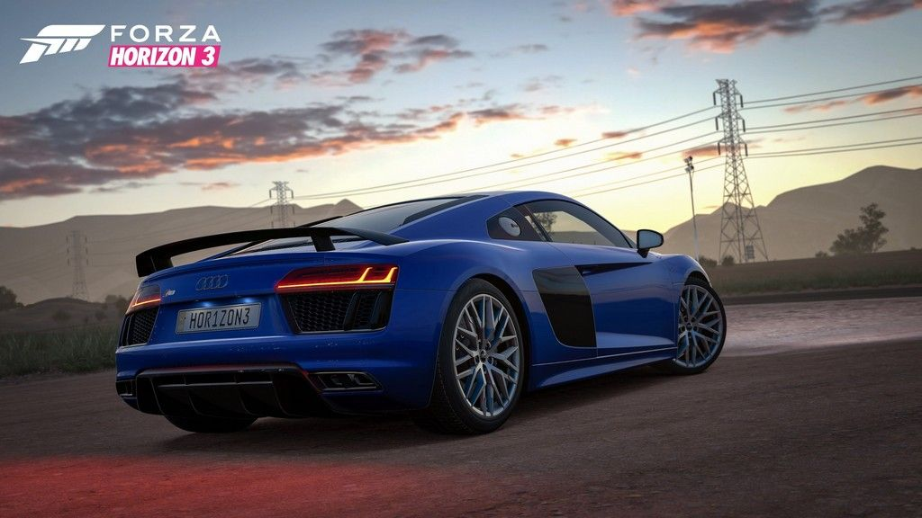 2019 Audi R8 v10 plus edition HD Car Forza horizon 3 Audi r8 1024x576