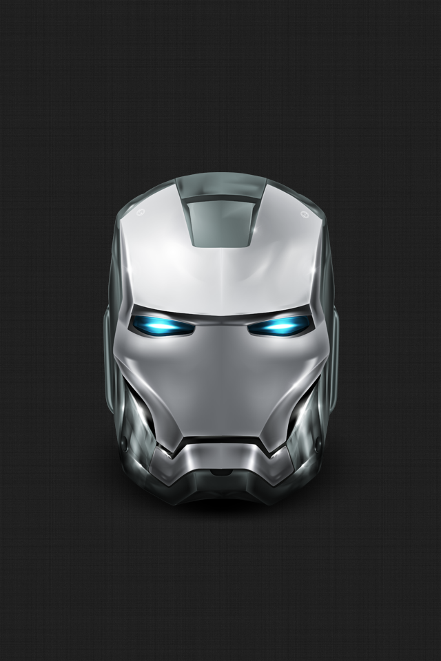 Silver Iron Man IPhone Wallpaper Non 5 By Vmitchell85 640x960