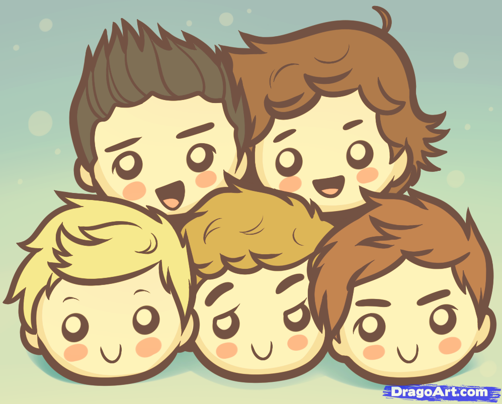 One Direction One Direction Cartoon 998x804