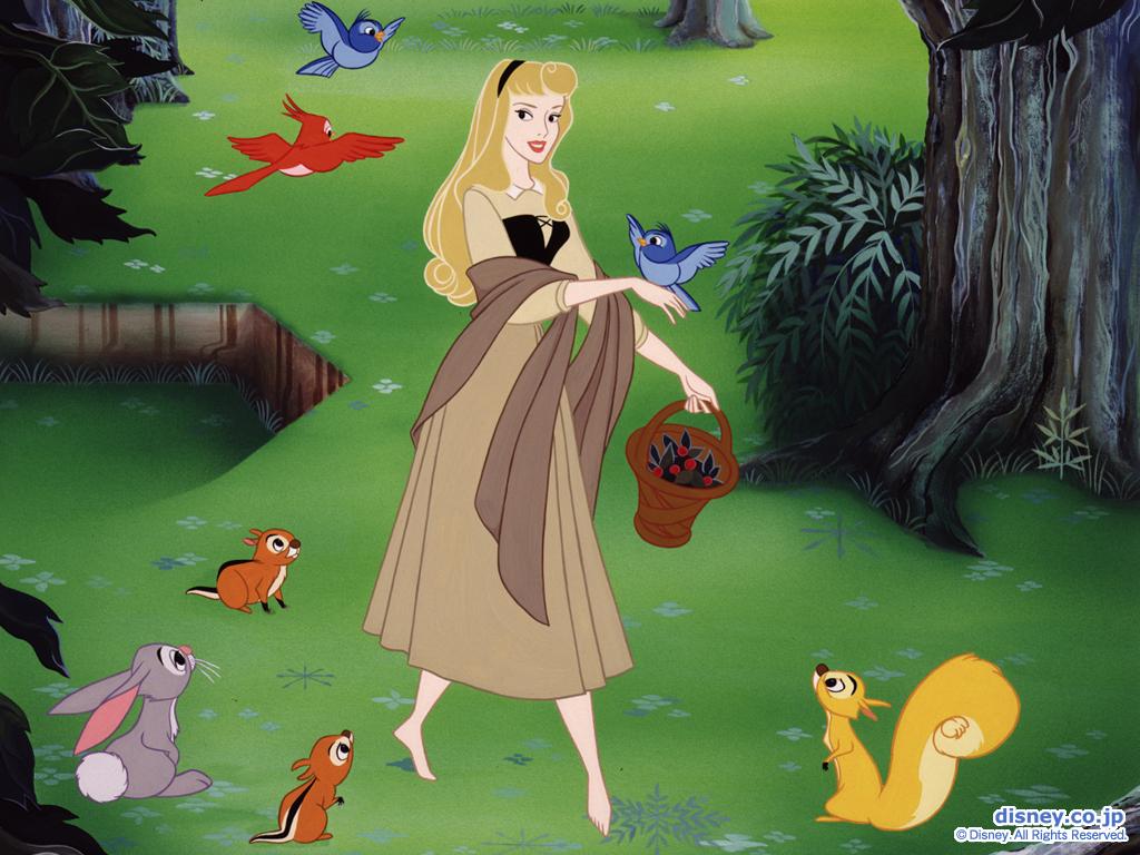 Classic Disney Sleeping Beauty Wallpaper 1024x768