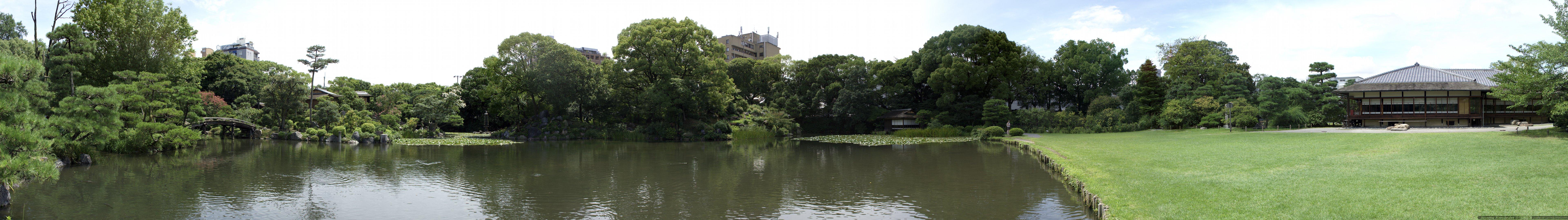 nishi hogashi garden 7680x1080 7680x1080