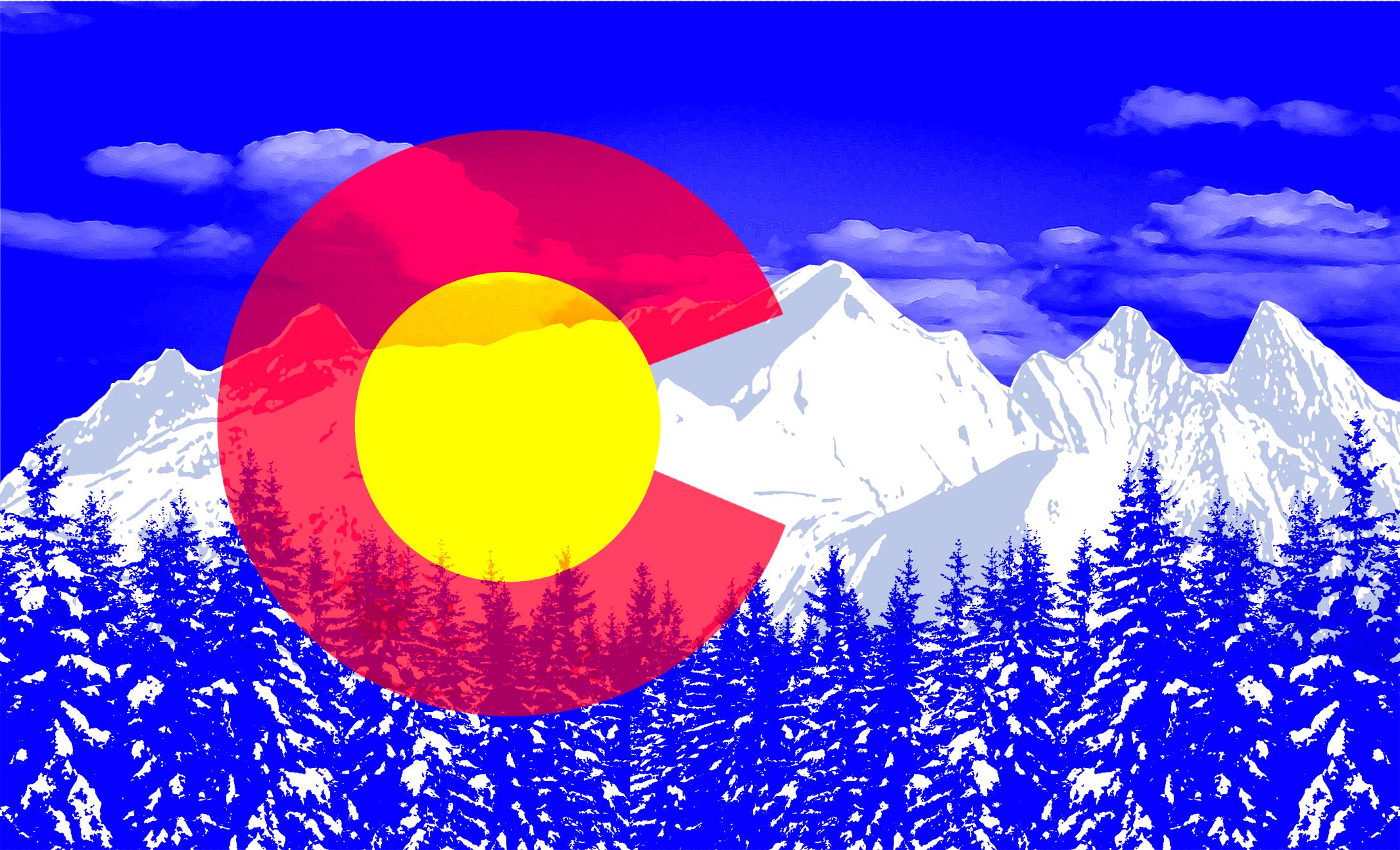 Colorado Flag Wallpaper - WallpaperSafari  Colorado Flag W...
