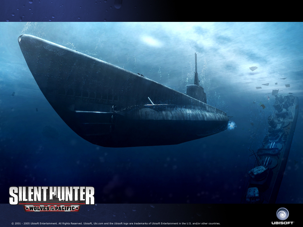 Silent Hunter 4 Wolves of the Pacific Wallpaper Submarine Wallpaper 1024x768