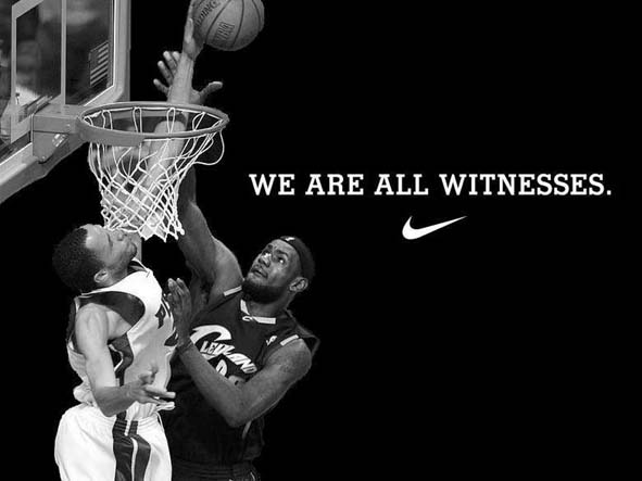 Lebron James Wallpaper We Are All Witnesses Lebron james w 591x443