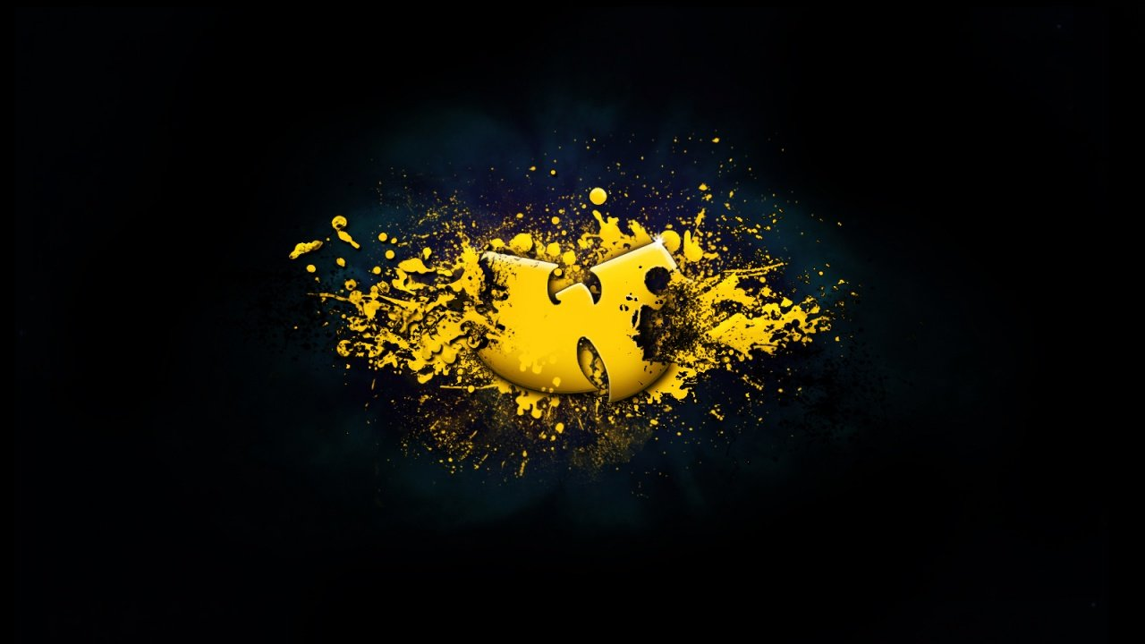 Free Download 1280x720 Wu Tang Klan Logo Desktop Wallpapers