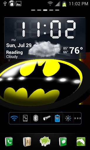 BATMAN 3D Live Wallpaper SCREENSHOTS 307x512