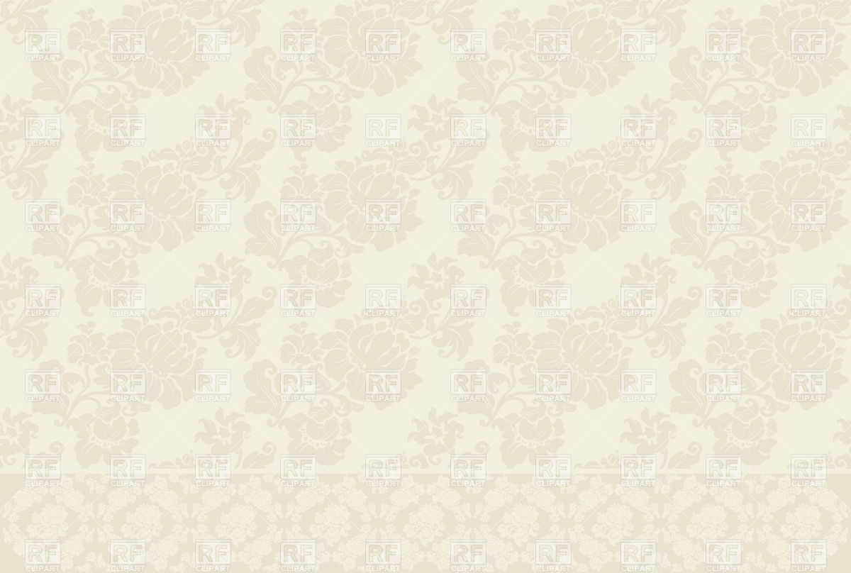 Beige seamless victorian wallpaper with floral pattern Backgrounds 1200x808