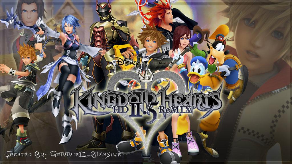hd Kingdom Hearts Wallpapers Kingdom Hearts hd 2 5 Remix 1024x576