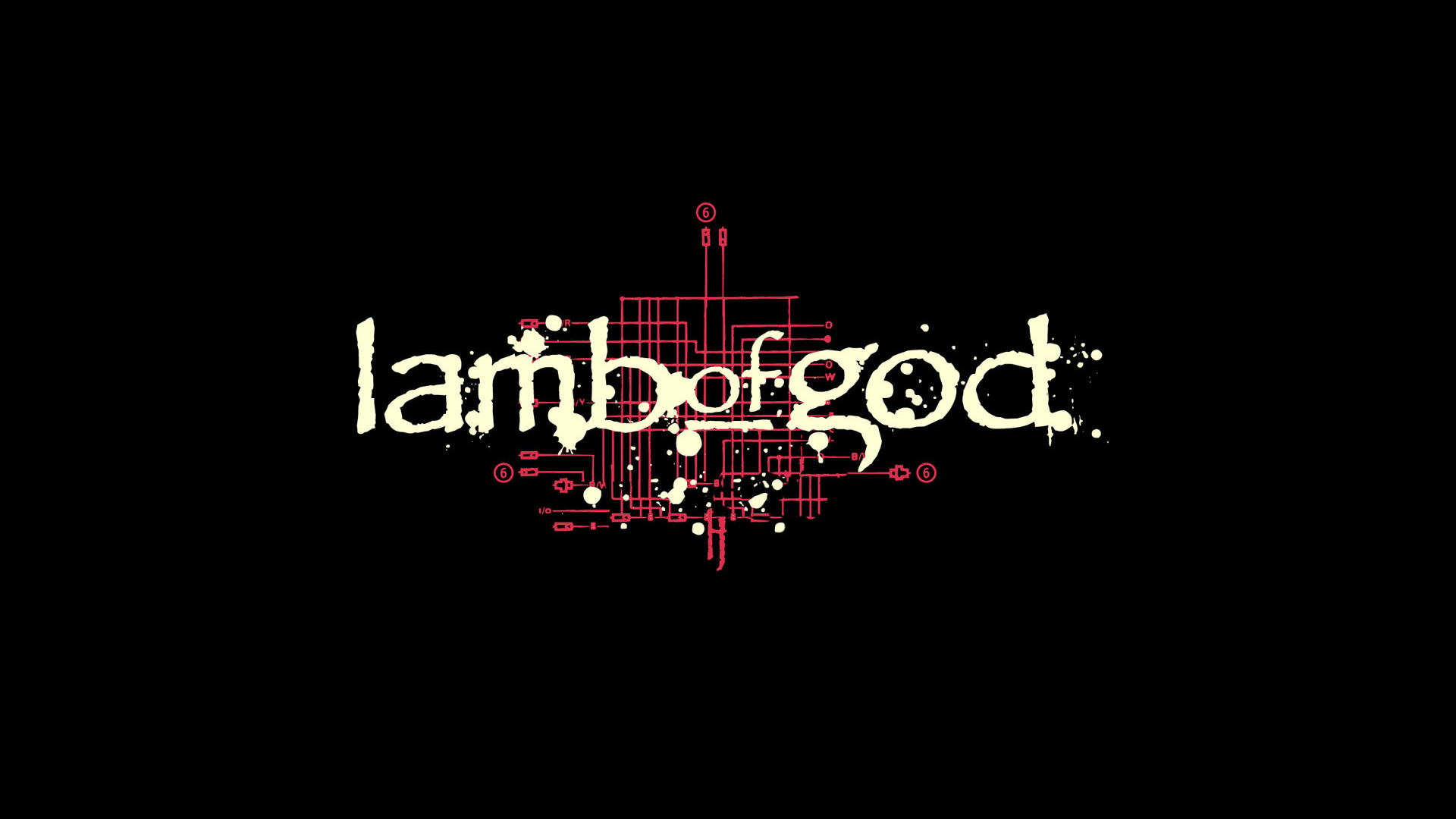 Lamb Of God Iphone Wallpaper Logo By