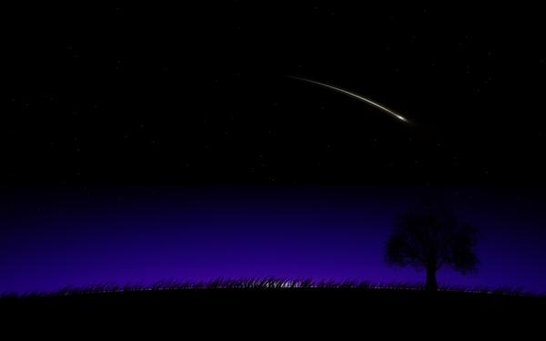 shooting star night shooting star Summer Wallpapers Desktop 600x375