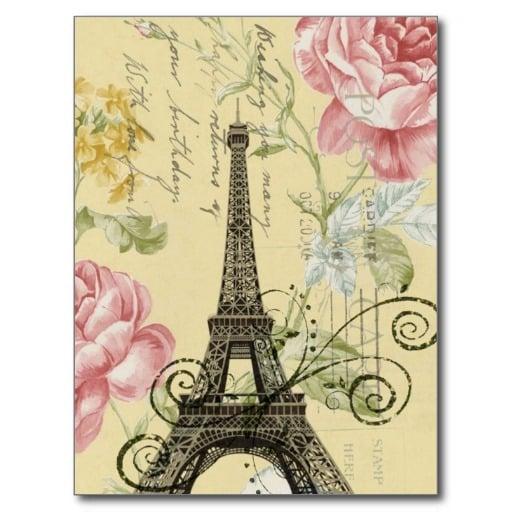 Girly Paris Wallpaper Wallpapersafari