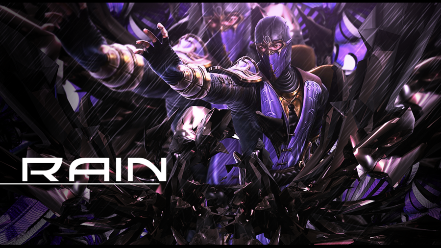 MK Rain Wallpaper by ZsoltGFX 900x506