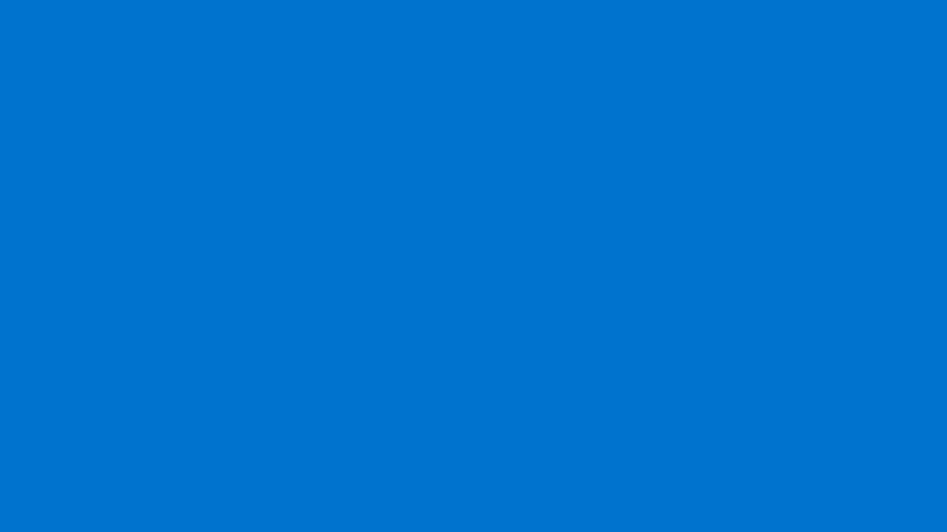 1920x1080 True Blue Solid Color Background 1920x1080