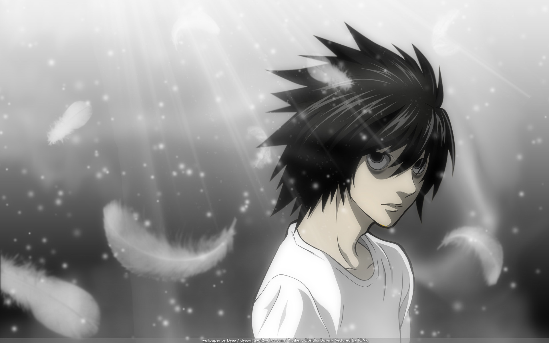 Free Download Death Note Death Note Wallpaper 16487806 1920x1200
