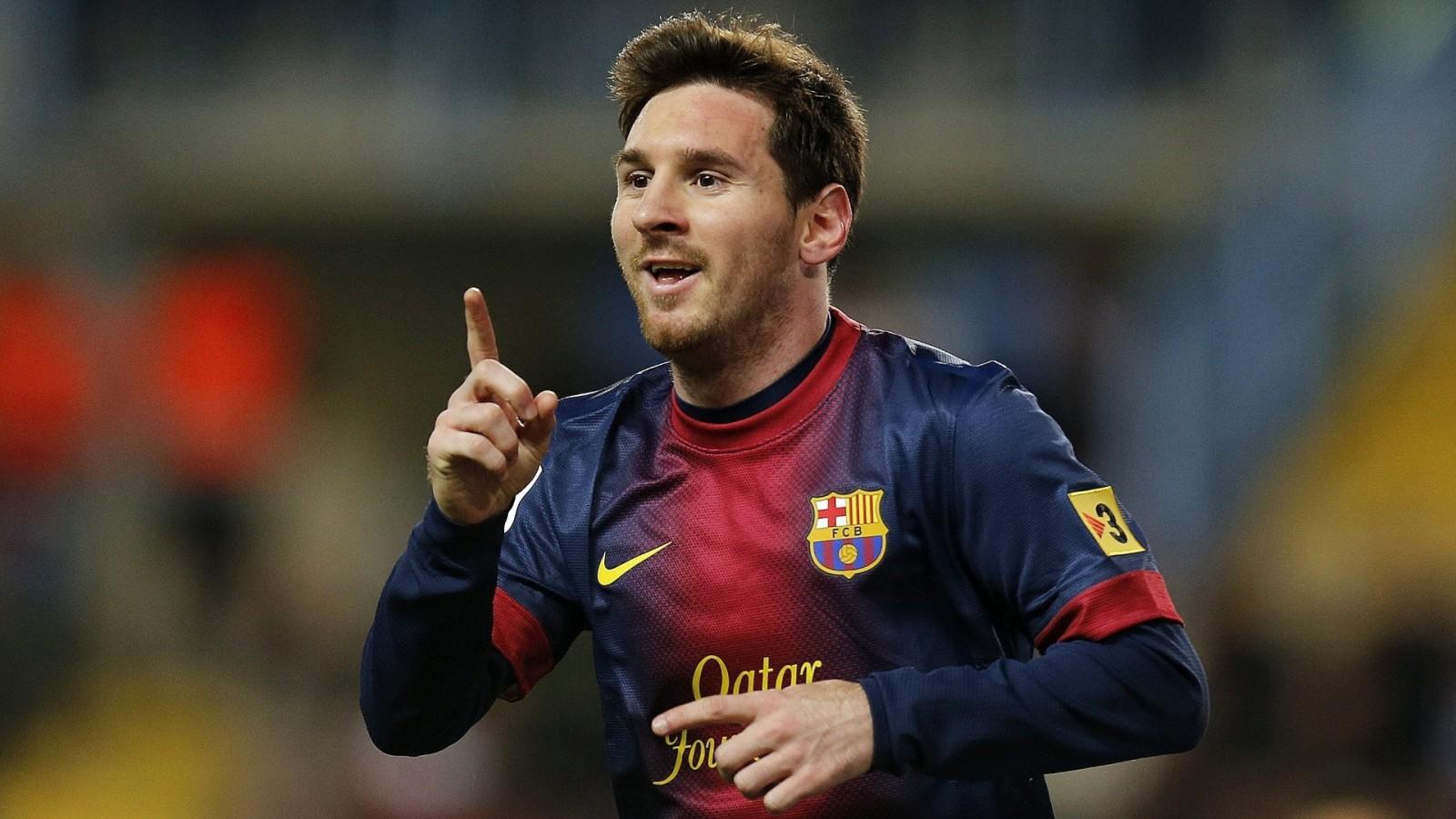 Lionel Messi Barcelona HD Wallpaper of Football   hdwallpaper2013com 1600x900