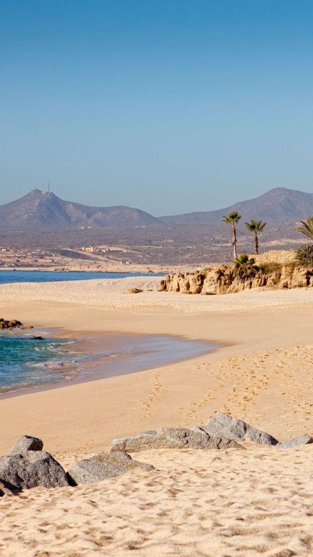 Cabo San Lucas Beach Baja California Sur Mexico iPhone 5 640x1136