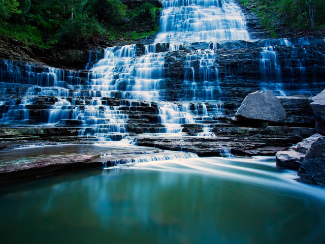Albion Falls Ontario Canada wallpapers and images   wallpapers 640x480