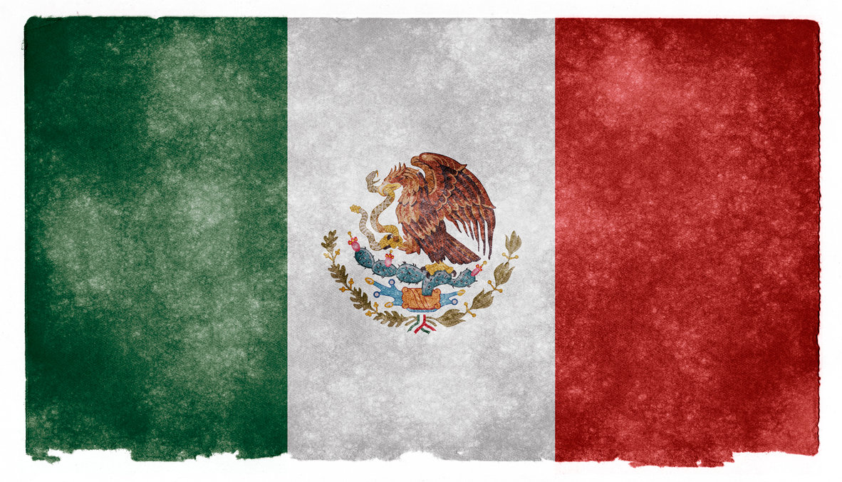 Mexico flag art background and make this wallpaper for your desktop 1182x676